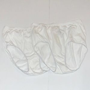 Comfort choice (2) Briefs Panties 100% Cotton 8